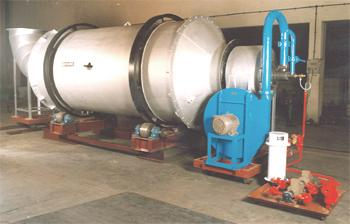 Batch Type Fuel Fired Rotary Kiln