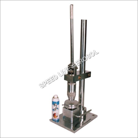 Aerosol Can Crimping Machine