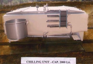 Milk Chilling Unit