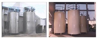 Horizontal Milk Storage Tanks