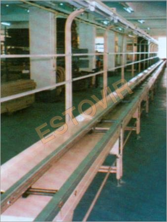 Motorised Free Flow PCB Insertion Conveyor