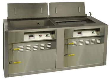 Two Stage Ultrasonic Cleaner