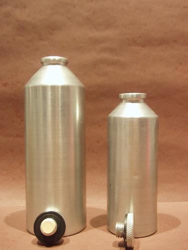 Aluminium Bottles With Aluminium Nut