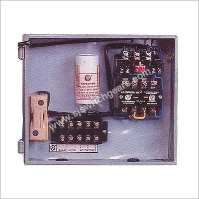 Single Phase Running Capacitor Panel