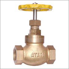 Bronze Globe Steam Stop Valve Screwed