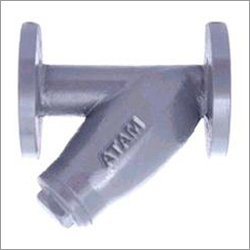 Cast Steel Y-Type Flanged Strainer