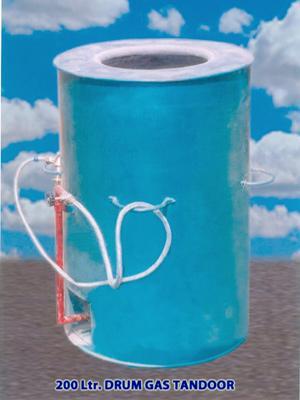 Drum Gas Tandoor
