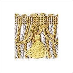 Golden Color Metallic Fringes
