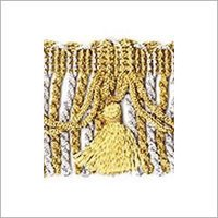 Golden Color Metallic Fringes