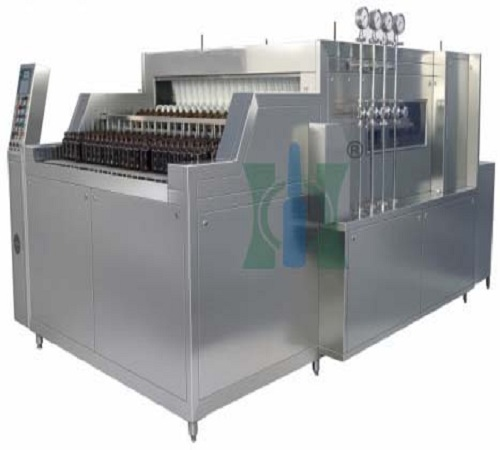 Automatic Linear Bottle Washing Machine