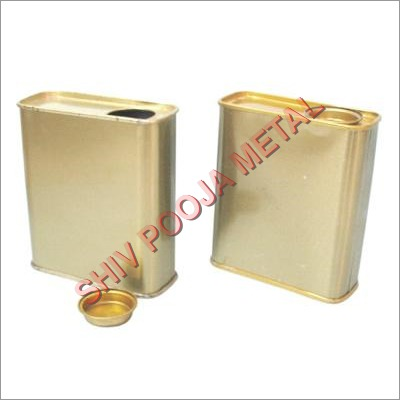 Gallon Type Plain Tin Container