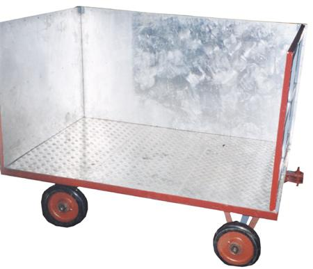 Aluminium Food Grade Trolley