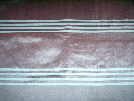 Taffeta Striped Silk Fabric