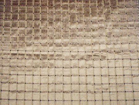 Dupion Checked Silk Fabrics