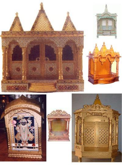 Wooden Carving , Meenakari Temples
