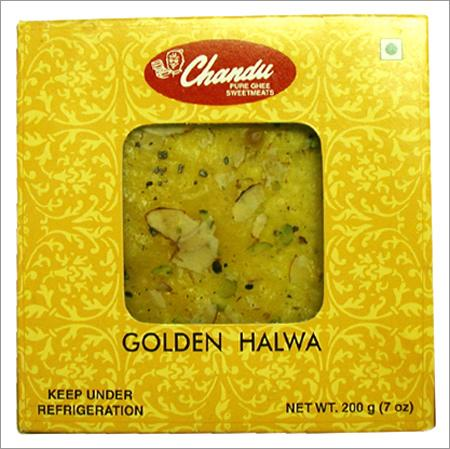 Golden and Ice Halwa