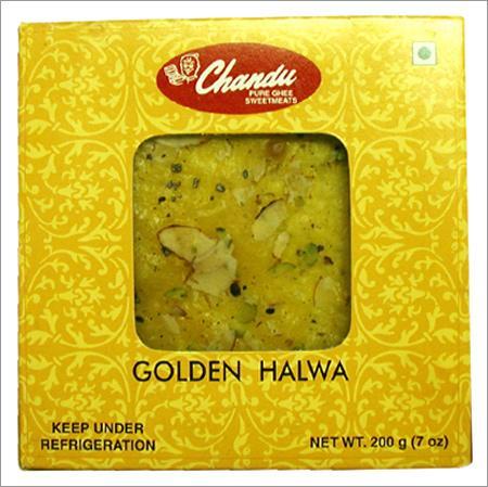 Golden-Halwa