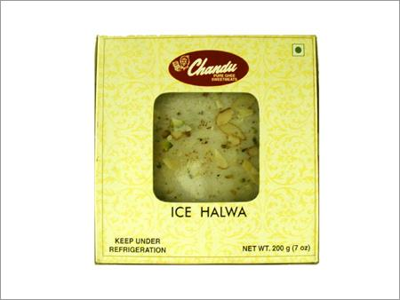 Golden and Ice Halwa