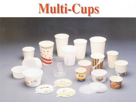 Multi Disposable Paper Cups