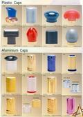 Plastic Cap, Aluminum Cap
