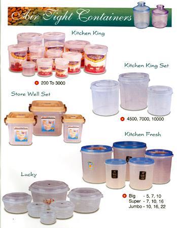 Kitchen Plasticware