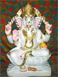 Ganesh ji Marble Statue in 30 Inches
