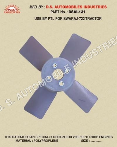 Heavy Tractor Radiator Fan