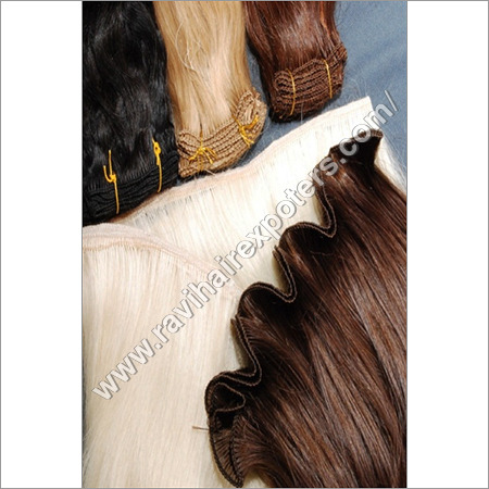 Colour Machine Weft Hair