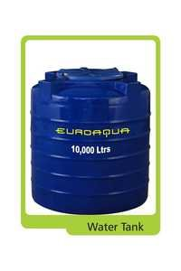 EUROAQUA WATER TANKS (10,000 ltrs)