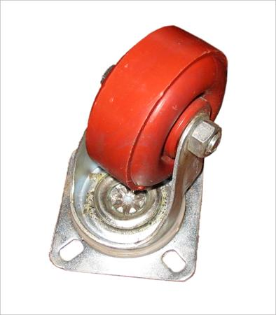 PU Caster Red Polymer