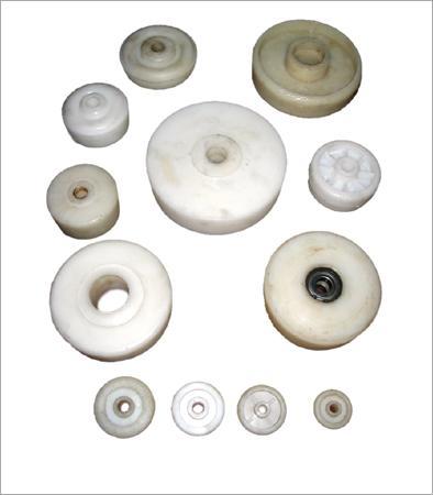 White Polymer Wheels