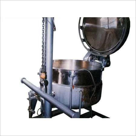 Automized Hydraulic Tilting pan