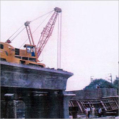 Errection of Steel girders (DMRC SEELAMPUR SITE)