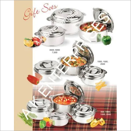 Stainless Steel Hot Pot Gift Sets Casserole
