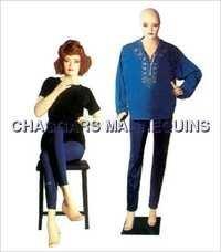 Female Sitting Mannequins