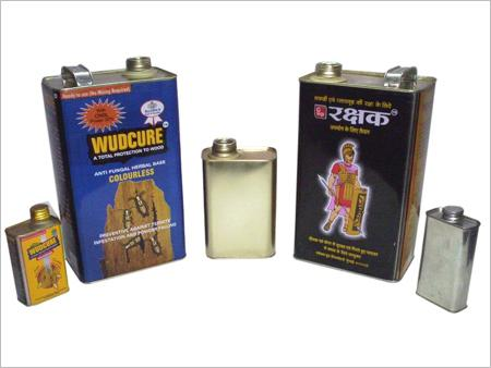 Rectangular Tin Containers