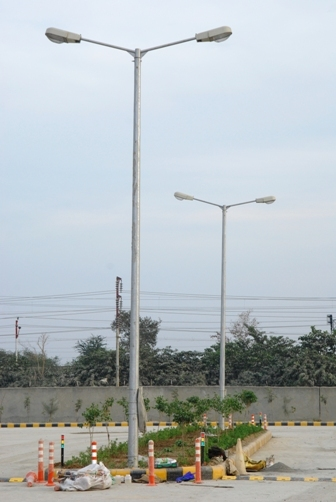 FRP Street Light Pole