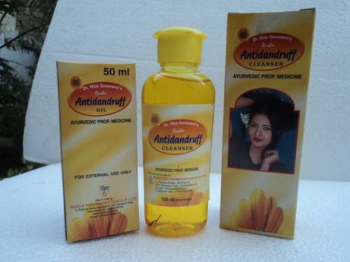Ayurvedic Anti Dandruff Oil