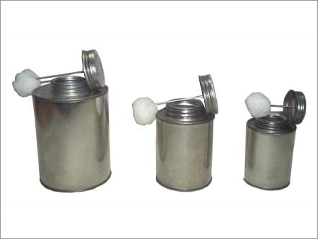 Cylindrical Metal Container
