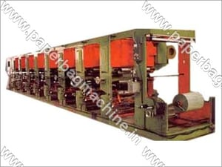 Automatic Rotogravure Printing Machinery