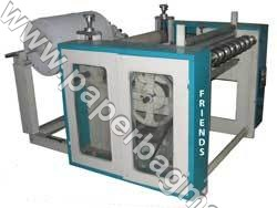 Semi-Automatic Toilet Roll Making Machine