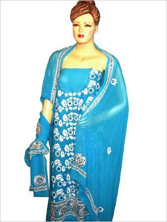 Punjabi Salwar Suit  Dupatta