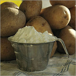 how to make potato starch in hindi