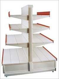 Double Sided Gondola Shelves