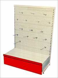 Perforated Display Shelves