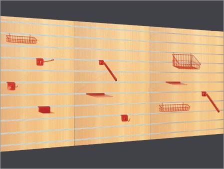 Slat Board Shelving