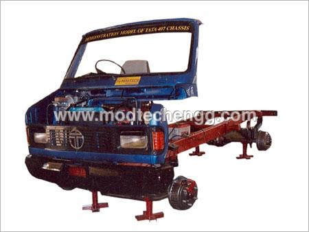Model of Tata 407 Chassis (Working)