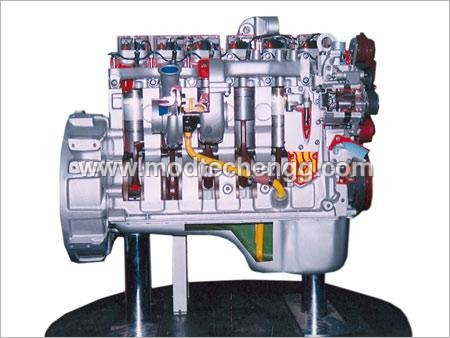 Automobile Engine Model