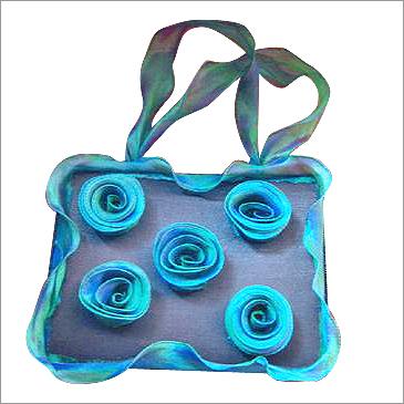 Tissue Rose Hard Base Bag