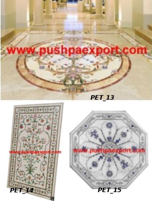 Marble Medallion Flooring
